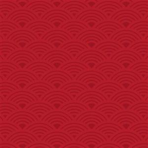 中国红祥云云纹背景底纹矢量素材