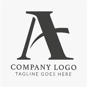 A变形图标公司logo设计素材