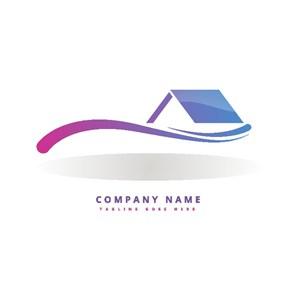 建筑圖標房地產公司logo設計素材