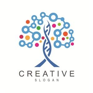 创意树标志图标公司logo素材