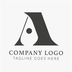 A字母变形标志图标商务贸易公司矢量logo