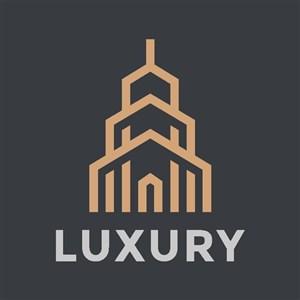 金色建筑logo房地產標志圖標
