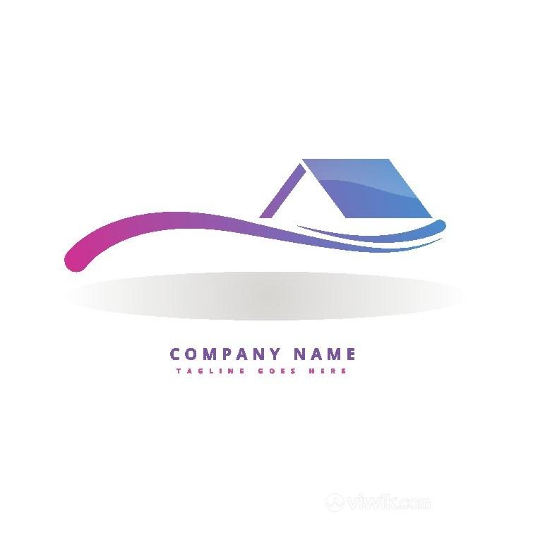 建筑图标房地产公司logo设计素材