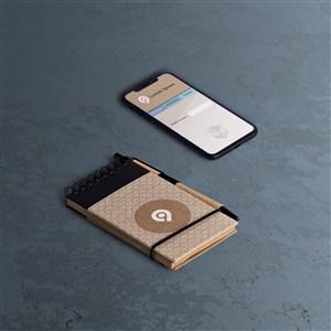 手机笔记本样机素材