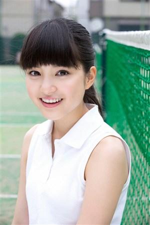 无袖装甜美微笑mm日本美女制服诱惑图片