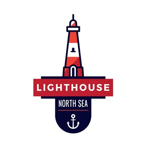 灯塔标志图标矢量logo