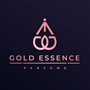 抽象瓶子图标高级香水logo