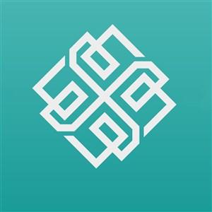 复杂图案标志贸易公司矢量logo设计素材