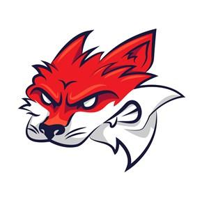 狐狸头像图标吉祥物logo设计素材