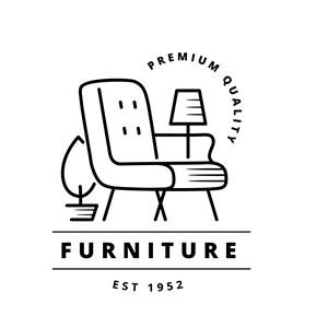 家具圖標家具品牌矢量logo