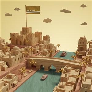 3D城市建筑模型