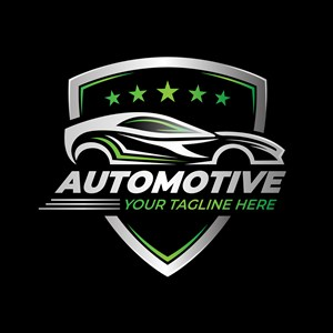 汽车盾牌图标汽车品牌矢量logo设计素材