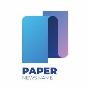 抽象字母N新闻传媒矢量logo设计素材