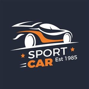汽车标志图标logo设计素材