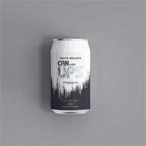 易拉罐350ml罐裝蘇打水啤酒貼圖樣機