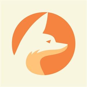 狐貍標志圖標網絡科技公司矢量logo設計素材