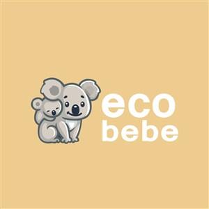 考拉标志图标服饰时尚矢量logo设计素材