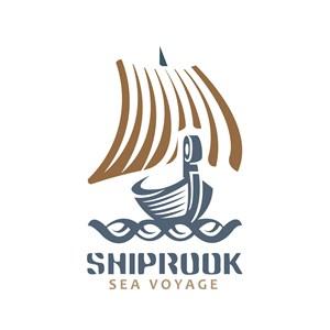 帆船标志图标酒店旅游矢量logo素材