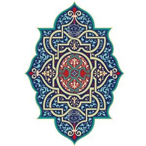 对称花纹中世纪古典维多利亚花纹矢量素材