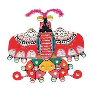 彩色蝴蝶风筝纸鸢民俗节日图片