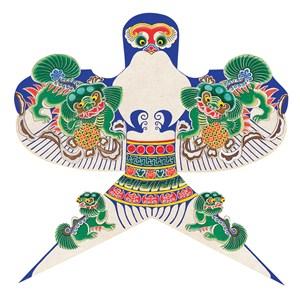 貔貅玳瑁燕子祥云风筝纸鸢传统文化图片