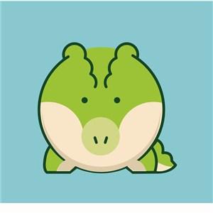 动物标志图标服饰时尚logo素材