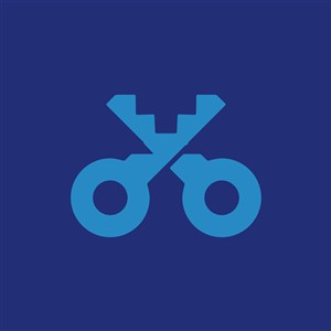 钥匙标志图标教育培训矢量logo素材