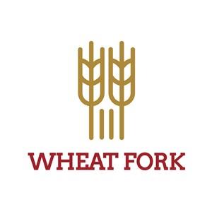 麦穗标志图标餐饮食品矢量logo设计素材
