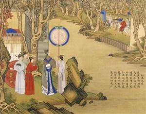 约束外家古代贤德皇后绘画图片