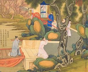 亲掖銮舆古代贤德皇后绘画图片