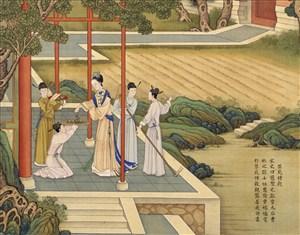 禁苑种谷古代贤德皇后绘画图片