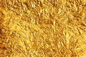 金箔表面纹理烫金纸背景图片