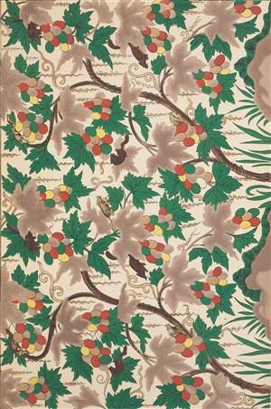 葡萄架植物中式传统纹样集锦中国风图片