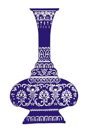瓷器花瓶國粹青花瓷中國風圖片