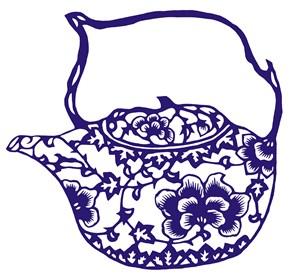 陶瓷水壺國粹青花瓷中國風圖片