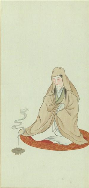 金陵十二钗穿麻戴孝绘画图片