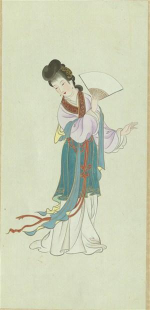 高清金陵十二钗绘画图片