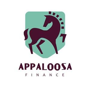 马盾牌标志图标商务贸易矢量logo设计素材