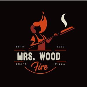 女人标志图标餐饮食品矢量logo设计素材