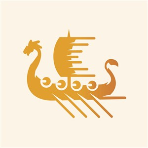 船标志图标运动休闲矢量logo素材