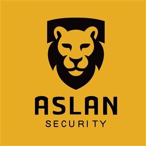狮子标志图标商务贸易矢量logo素材