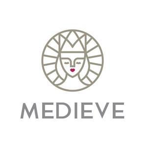 戴皇冠的女人头像标志图标公司矢量logo设计素材