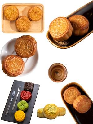 月饼美食素材PNG图片