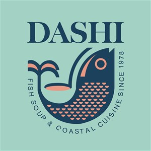 鱼标志图标食品矢量logo设计素材
