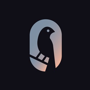 鸟标志图标服饰时尚矢量logo素材