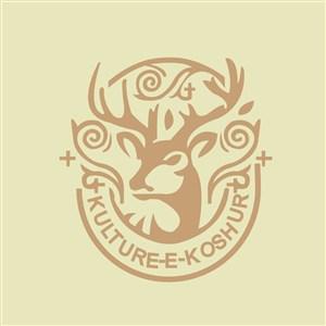 鹿标志图标公司矢量logo素材