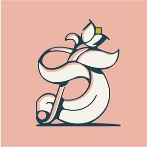 花标志图标美容医疗矢量logo素材