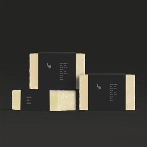 香皂精油皂手工皂包装贴图样机