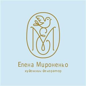 线条鸟标志图标化妆品矢量logo素材