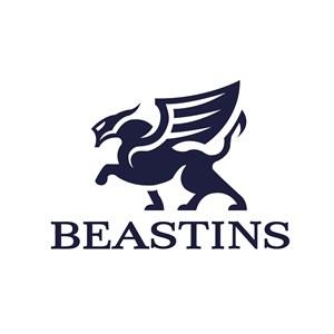 带翅膀的动物标志图标矢量公司logo素材